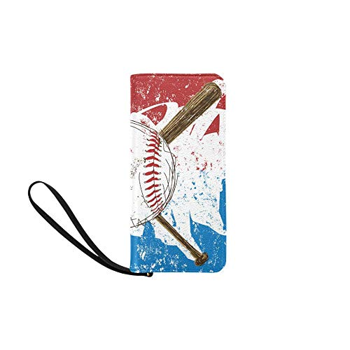 Wallet Baseball Flag...