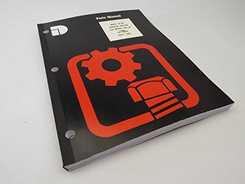 (IH International Harvester TD-8E Crawler Dozer Tractor Parts Manual Catalog Book)