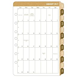Day-Timer Daily Planner Calendar Refill 2017, Two Page Per Day, 5-1/2 x 8-1/2\