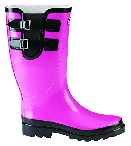 Green Puddletons Classic Double Comfort Hot PCM102 Rain Strap Pink Women's Insole with Boots gCRgqrxzw