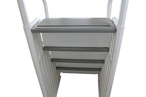 New confer step 1 above ground swimming pool ladder heavy duty step system entry buy online in for Heavy duty swimming pool ladders