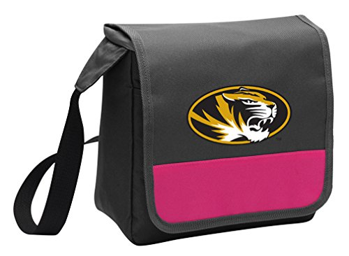 Cute Mizzou Lunch Bag Ladies or Girls University of Missouri Lunch Cooler Bags -