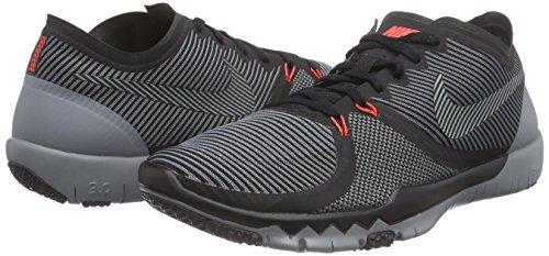 Nike Herren Free Trainer 3.0 V4 Hallenschuhe Grau (Black