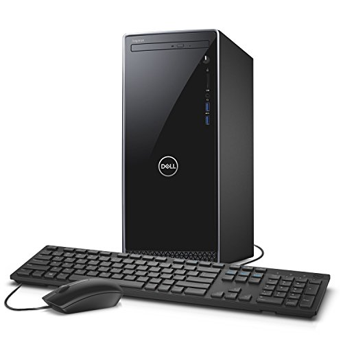 Dell Inspiron i3670 Desktop – 8th Gen Intel Core i7-8700 6-Core up to 4.60 GHz, 8GB DDR4 Memory, 1TB SATA Hard Drive, 2GB Nvidia GeForce GT 1030, DVD Burner, Windows 10 Pro
