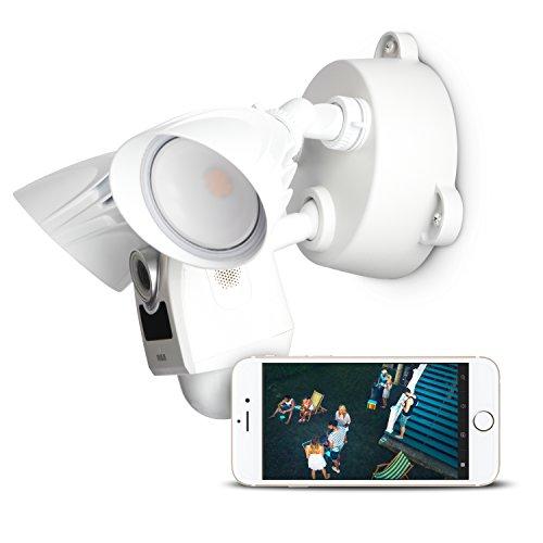 RCA Home Security LED Flood Light Camera