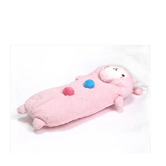 Molang Rabbit - Pink   10 Inch   Kawaii Pencil Case 2