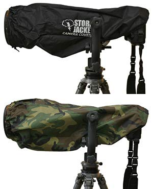 Vortex Media Pro Storm Jacket Cover for an SLR Camera medium,Color: Camo