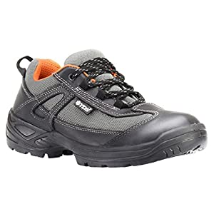 RUGGEDIM YDS Athletic Safety Shoes with Steel Toe | Anti-Static Shock Absorbent Work Shoe
