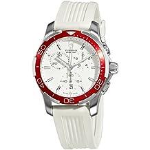 Victorinox Swiss Army Women's Alliance 241504 White Silicone Swiss Chronograph Watch