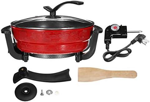 220V 1300W 6L électrique Hot Pot 32cm Soup Kitchen Marmite ustensiles antiadhésifs for Cuisinières cuisson à induction Pot