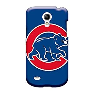 Scratch Resistant Hard Cell-phone Cases For Samsung Galaxy S4 Mini With Support Your Personal Customized Nice Baseball Chicago Cubs Skin LisaSwinburnson