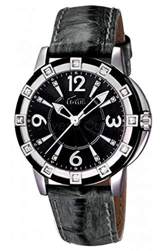 Lotus Glee Womens Analog Quartz Watch with Leather Bracelet 15745/A