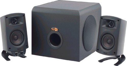 Klipsch ProMedia 2.1 THX Certified Computer Speaker System (Black) [並行輸入品] B07FY3TJZS