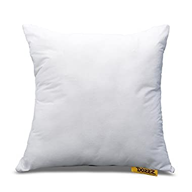 DOZZZ 18  X 18  Square Poly Throw Pillow Insert, Pillow Foam Insert Pillow Cushion