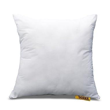 DOZZZ 18  X 18  Square Poly Pillow Insert, Pillow Foam Insert Pillow Stuffing