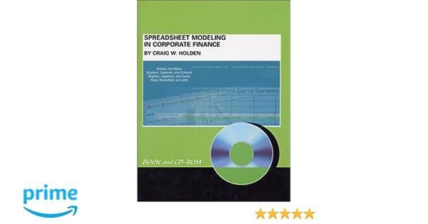 Amazon.com: Spreadsheet Modeling in Corporate Finance ...