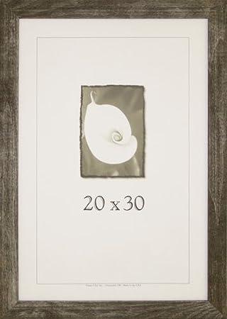 Amazoncom 20x30 Farmhouse Barnwood Picture Frame Wplexi Glass