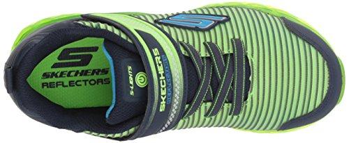 Lime Charge Flex Garçon Skechers Baskets Ronix Navy Multicolore gYWwR