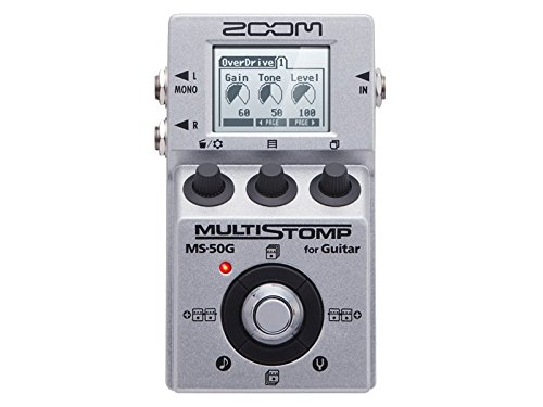 Zoom ms50g – Pedal multiefectos