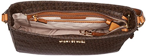 MICHAEL MICHAEL KORS Jet Set Travel Large Logo Messenger, Brown