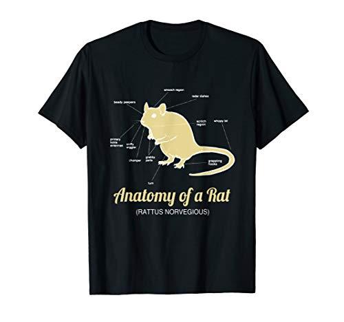 Anatomy of Pet Rat T shirt