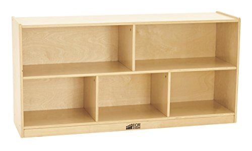 ECR4Kids Birch Storage Cabinet Compartments product image