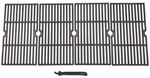 BBQSTAR BBQ Grill Grate 16-7/8-inch Matte Cast-Iron Cooking Grate Replacement
