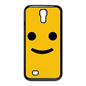 smiley face background Samsung Galaxy S4 9500 Cell Phone Case Black Customized Toy pxf005-3432141