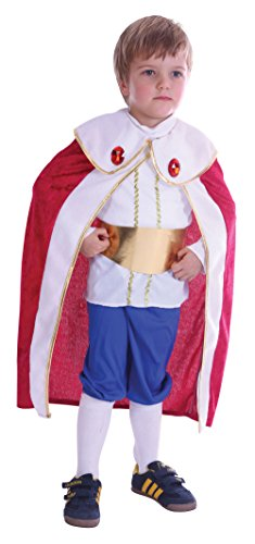 Bristol Novelty King Toddler Costume Age 2 -3 Years