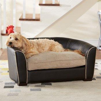 Amazon.com: Enchanted Home Pet Remy Pet Sofá cama, 34 por 19 ...