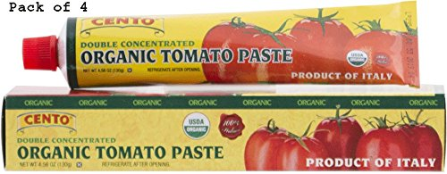 Concentrated Tomato Paste in a Tube 4.56 0z - Pack of 4 ()
