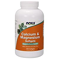 NOW Foods, Calcium & Magnesium + D - 240 Softgels
