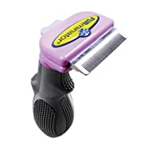 FURminator deShedding Tool Brush for Cats long hair, small
