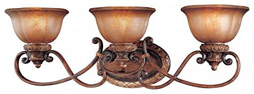 Minka Lavery 6353-177 Illuminati 3 Light Bath Bar, Illuminati Bronze Finish - 177 Illuminati Bronze Finish