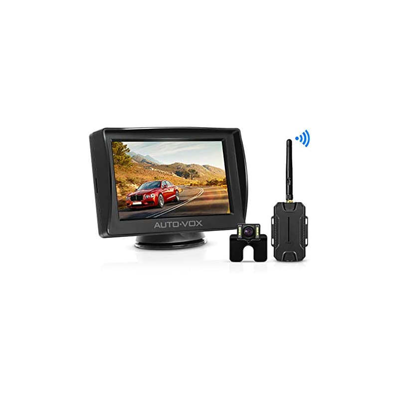 AUTO-VOX W1 Wireless Backup Camera Kit 4