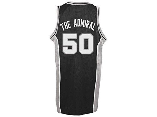 San Antonio Spurs David Admiral Robinson Nickname Soul Swingman Jersey (S) (David Robinson Spurs)