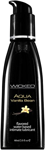 (Wicked Sensual Care Water Based Lube, Vanilla Bean, 2 Ounce)