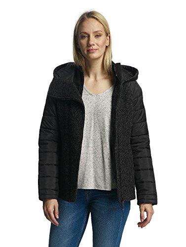 Bench Damen Jacken/Übergangsjacke Asymmetric Schwarz