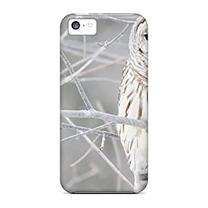 New Design Shatterproof PHiRBod3519yWnBj Case For Iphone 5c (white Owl In Winter)