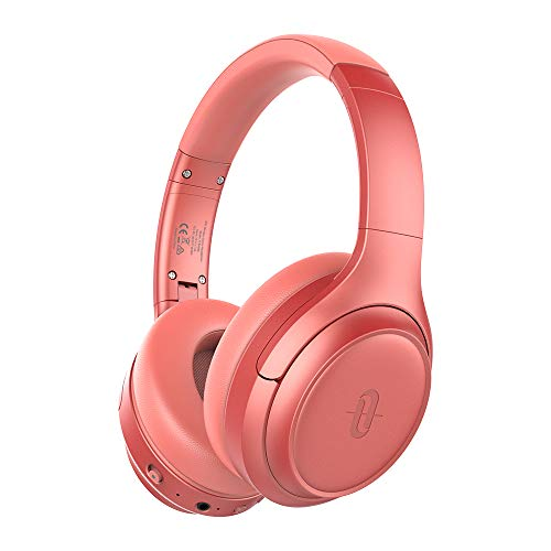 Active Noise Cancelling Headphones [2019 Upgrade], TaoTronics Bluetooth Headphones SoundSurge 60 Over Ear Headphones Sound Deep Bass, Quick Charge, 30 Hours Playtime for Travel Work TV PC Cellphone