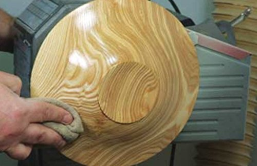 Ultimate Walnut Oil by Mahoney's Finishes: Food Safe Wood Finish for Satin Sheen/ Easy To Use, FastDrying Wood Protective Finish/ Salad Bowl, Cutting Board, Utility and Furniture Walnut Wood Protectant by Bowl Maker (Image #4)