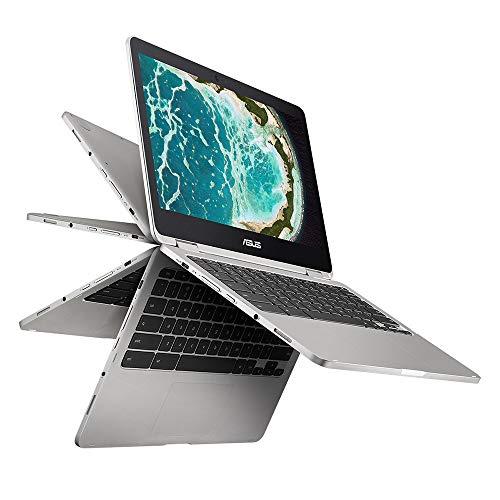 "ASUS Chromebook Flip C302 2-In-1 Laptop- 12.5"" Full HD 4-Way NanoEdge Touchscreen, Intel Core M7 Processor, 8GB RAM…"