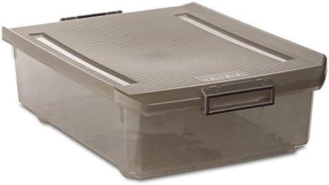 Tatay 1151214 Caja Multiusos bajo Cama, 32 l, Fume, 40.00x56.50x17.50 cm: Amazon.es: Hogar