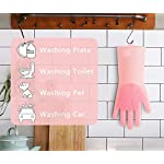 Sketchfab Magic Silicone Dish Washing Gloves, Silicon Cleaning Gloves, Silicon Hand Gloves for Kitchen Dishwashing and…