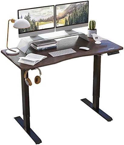 HARBLAND Electric Standing Desk Sit Stand Ergonomic Uplift Rising Desk