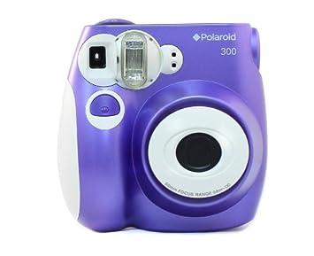 Amazon.com : Polaroid PIC-300 Instant Film Camera (Purple ...