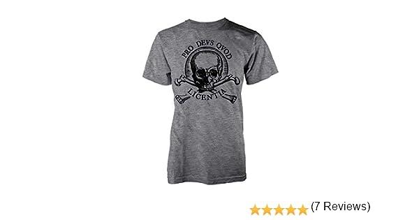 Uncharted 4 - a ThiefS End Calavera - Camiseta Oficial Hombre - Gris, M: Amazon.es: Ropa y accesorios