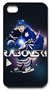 icasepersonalized Personalized Protective Case for iPhone 4/4S - NHL Toronto Maple Leafs #84 Mikhail Grabovski