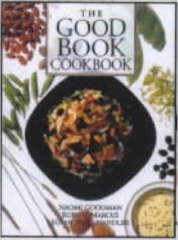 The Good Book Cookbook by Naomi Goodman