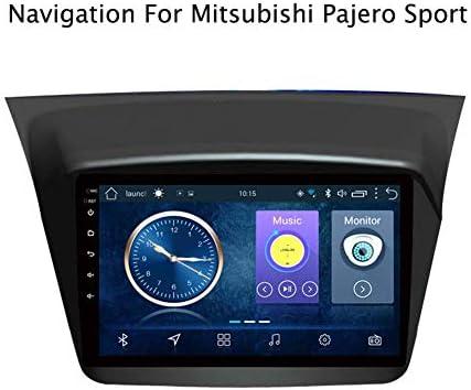 Mitsubishi Pajero montero sport 2013-2019 8.1のAndroid 1.1カーラジオステレオGPSナビゲーション9インチタッチディスプレイカーメディアプレーヤー,4g+wifi:1+16g